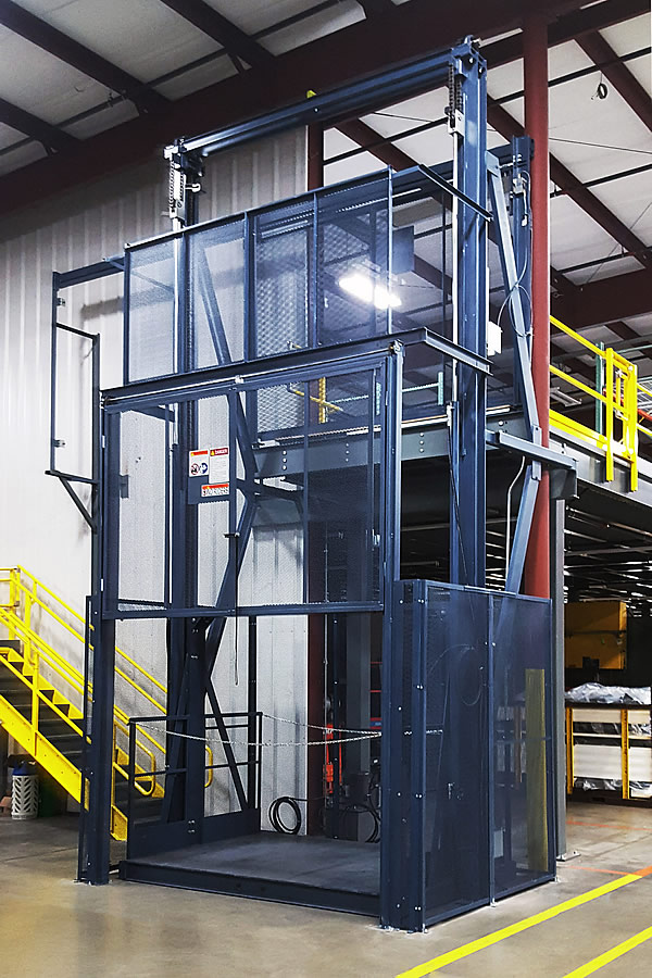 PFlow 21 Series Hydraulic Vertical Lift